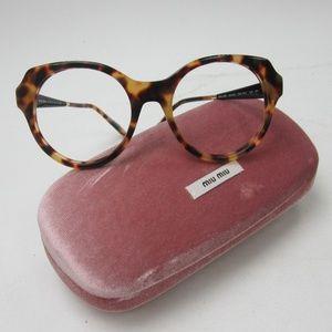 3334ace2aed6 Miu Miu Accessories - Frame Only Miu Miu SMU 06P Sunglasses Italy OLG731